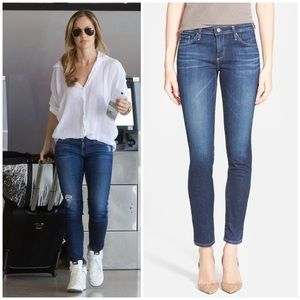 AG GoldSchmied The Stilt Cigarette Skinny Jeans 25